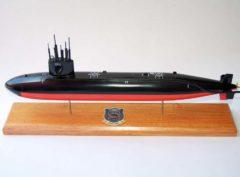 USS Guitarro SSN-665 Submarine Model