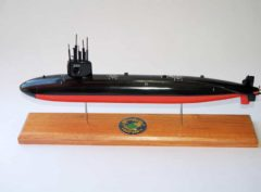 USS Hawkbill SSN-666 Submarine Model