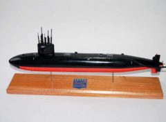 USS Bergall SSN-667 Submarine Model