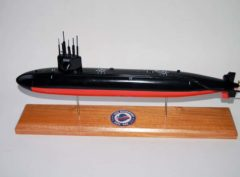 USS Spadefish SSN-668 Submarine Model