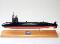 USS Finback SSN-670 Submarine Model