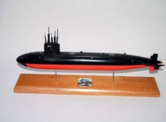 USS Flying Fish SSN-673 Submarine Model