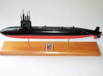 USS Bluefish SSN-675 Submarine Model