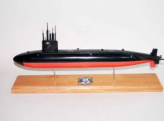 USS William H. Bates SSN-680 Submarine Model