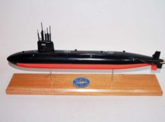 USS Tunny SSN-682 Submarine Model