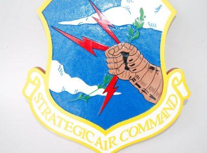 Strategic Air Command Plaque