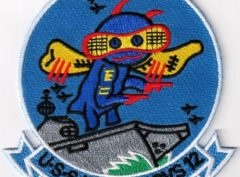 USS Hornet (CVS-12) Patch - Sew On