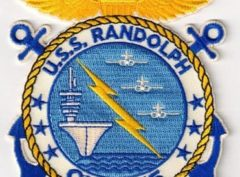 USS Randolph (CVS-15) Patch – Sew On
