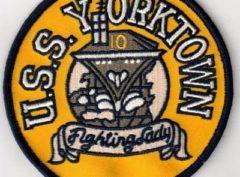 USS Yorktown (CV-10) Patch - Sew On