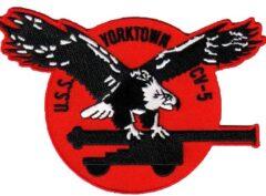 USS Yorktown (CV-5) Patch - Sew On