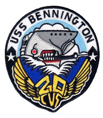 USS Bennington (CVS-20) Patch – Sew On