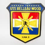 USS Belleau Wood LHA-3 Plaque