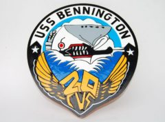 USS Bennington CVS-20 Plaque