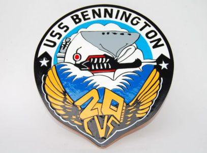 USS Bennington CVS-20 Plaque