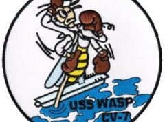 USS WASP (CV-7) Patch – Sew On