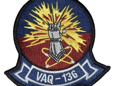 VAQ-136 Gauntlets Squadron Patch – Sew On