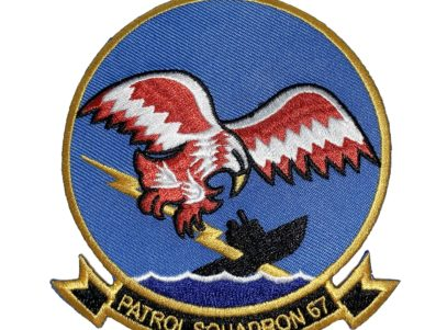 VP-67 Golden Hawks Squadron Patch – Sew On