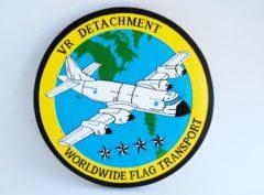 VR Detachment Worldwide Flag Transport Plaque