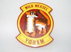 Wild Weasels YGBSM Plaque