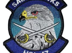 HSL-47 Saberhawks Squadron Patch –Sew On