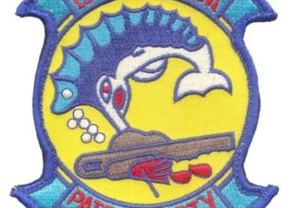 VP-40 Fighting Marlins Squadron Patch – Sew On