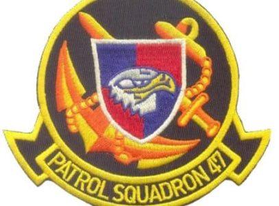 VP-47 Golden Swordsmen Squadron Patch – Sew On