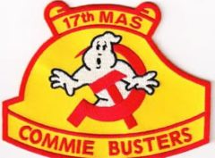 17th MAS COMMIE BUSTERS Patch – Sew On
