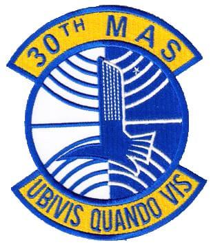 30th MAS UBIVIS QUANDO VIS Patch – Sew On