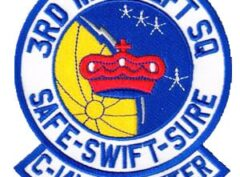 3rd MAS C-141 STARLIFTER Patch – Sew On