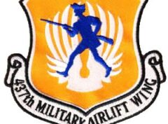 437th Airlift Wing Patch – Sew On