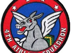 4th Airlift Squadron Patch – Sew On