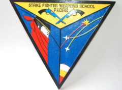 Strike Fighter Weapons School Pacific Plaque