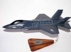 VMFA-314 Black Knights F-35c Model