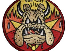 VMF-351 Original Devil Dog Squadron Patch – Sew On