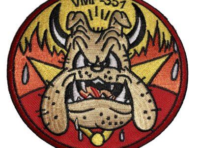 VMF-351 Original Devil Dog Squadron Patch – Sew On