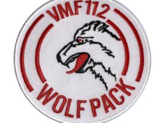 VMF-112 Wolf Pack Squadron Patch – Sew On
