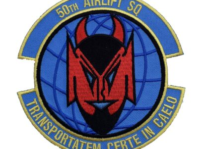 50th Airlift Squadron Patch – Sew On