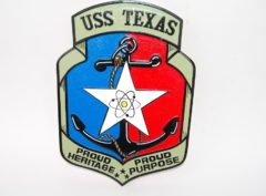 USS TEXAS CGN-39 Plaque
