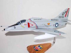 VMA-124 Wild Aces A-4 Skyhawk Model