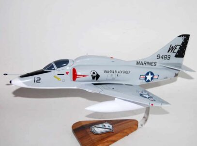 VMA-214 Black Sheep A-4 Skyhawk Model