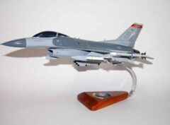 119th Fighter Squadron F-16 Fighting Falcon Model
