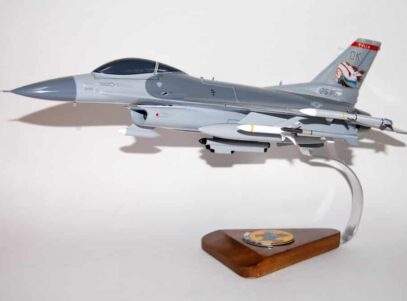 125th Fighter Squadron F-16 Fighting Falcon Model