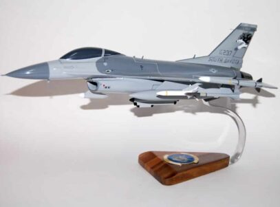 175th Fighter Squadron F-16 Fighting Falcon Model