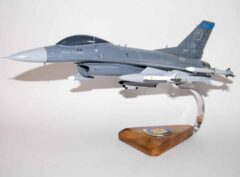 179th Fighter Squadron F-16 Fighting Falcon Model