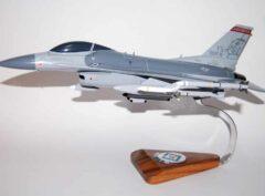 184th Fighter Squadron F-16 Fighting Falcon Model