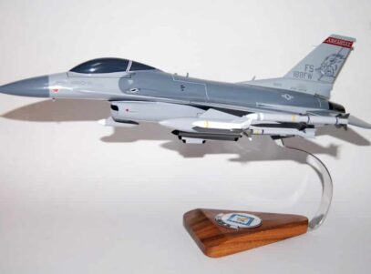 184th Fighter Squadron F-16 Fighting Falcon Model