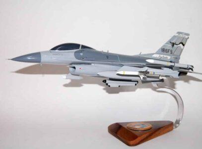 186th Fighter Squadron F-16 Fighting Falcon Model