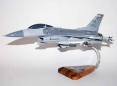 198th Fighter Squadron F-16 Fighting Falcon Model