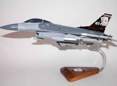 21st Fighter Squadron Gamblers F-16 Fighting Falcon Model