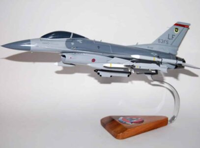 63d Fighter Squadron F-16 Fighting Falcon Model